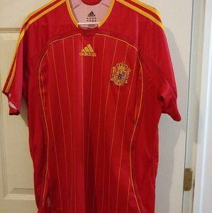 adidas men's Spain jersey